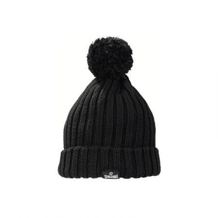 bonnet pompon spalding noir al ploufragan basket ball. Black Bedroom Furniture Sets. Home Design Ideas