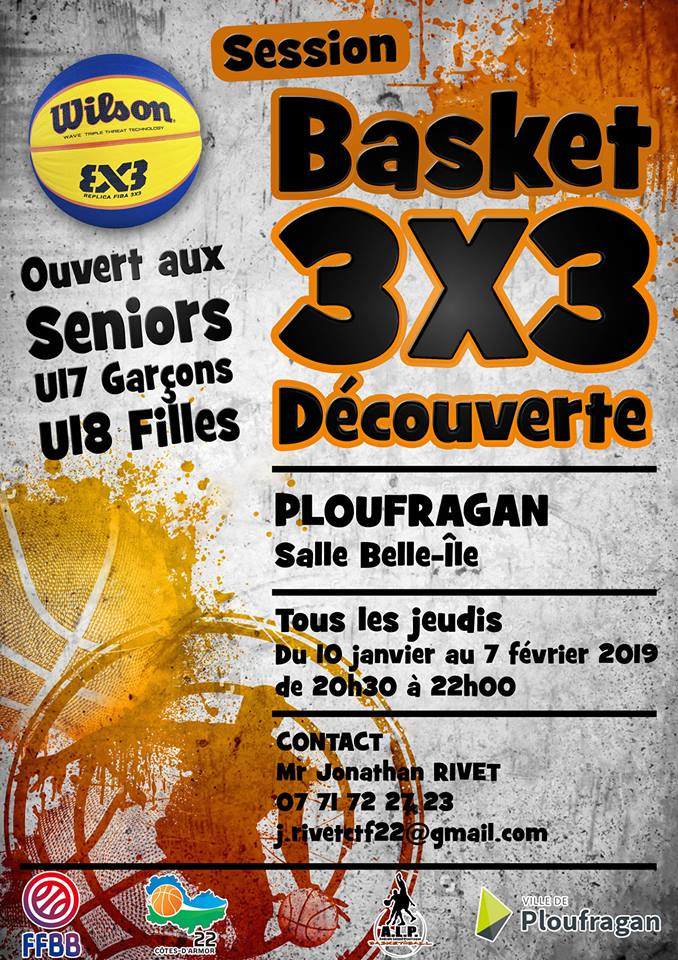 SESSION BASKET 3X3 DECOUVERTE