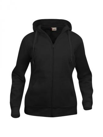 Sweat capuche zippé Clique Basic Hoody ladies