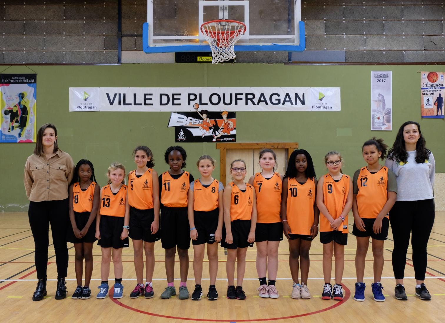 U11 FILLES - AL PLOUFRAGAN BASKET-BALL