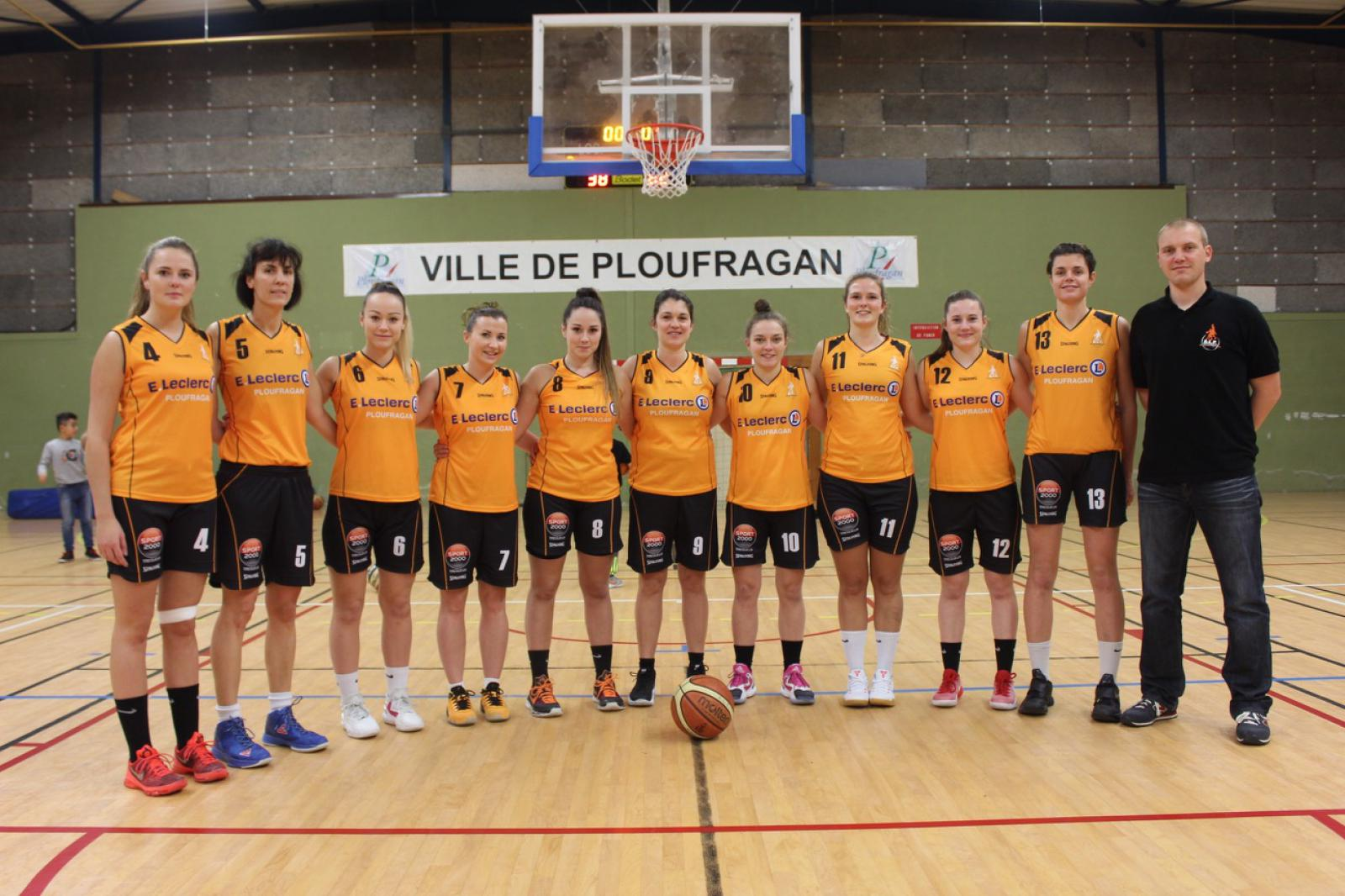 SENIORS FEMININES 1 - AL PLOUFRAGAN BASKET-BALL