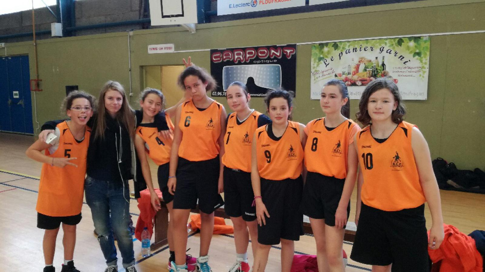 U13 FILLES-1 CTC - COMPETITION - AL PLOUFRAGAN BASKET-BALL