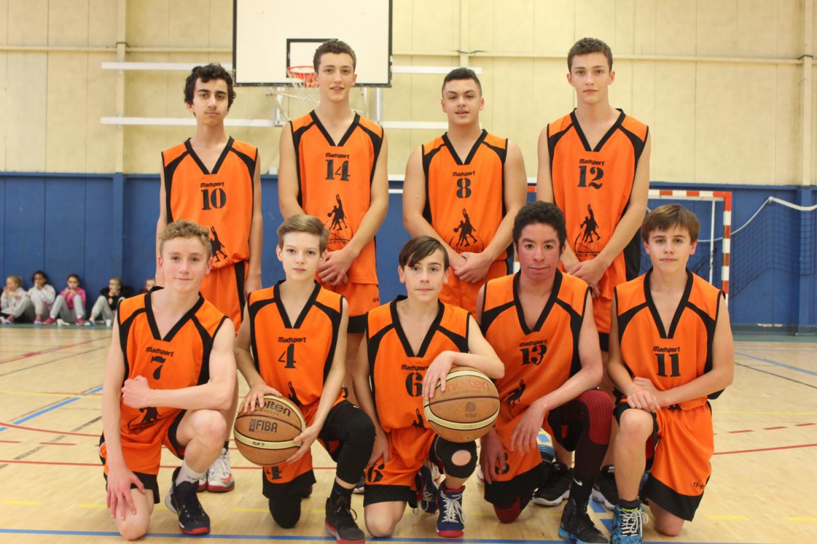 U15 GARS CTC - COMPETITION - AL PLOUFRAGAN BASKET-BALL
