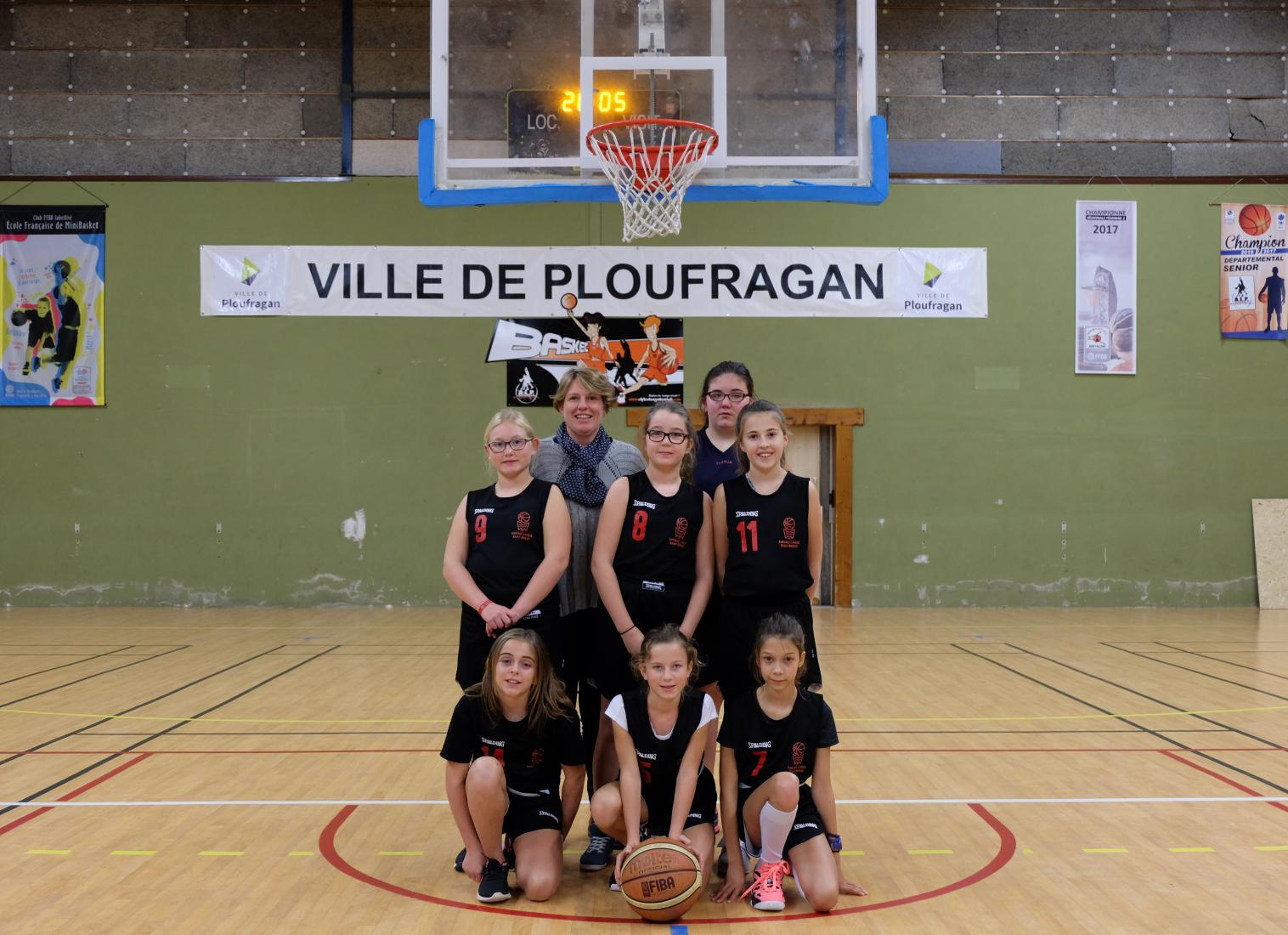 U13 FILLES-2 CTC - DEVELOPPEMENT - AL PLOUFRAGAN BASKET-BALL
