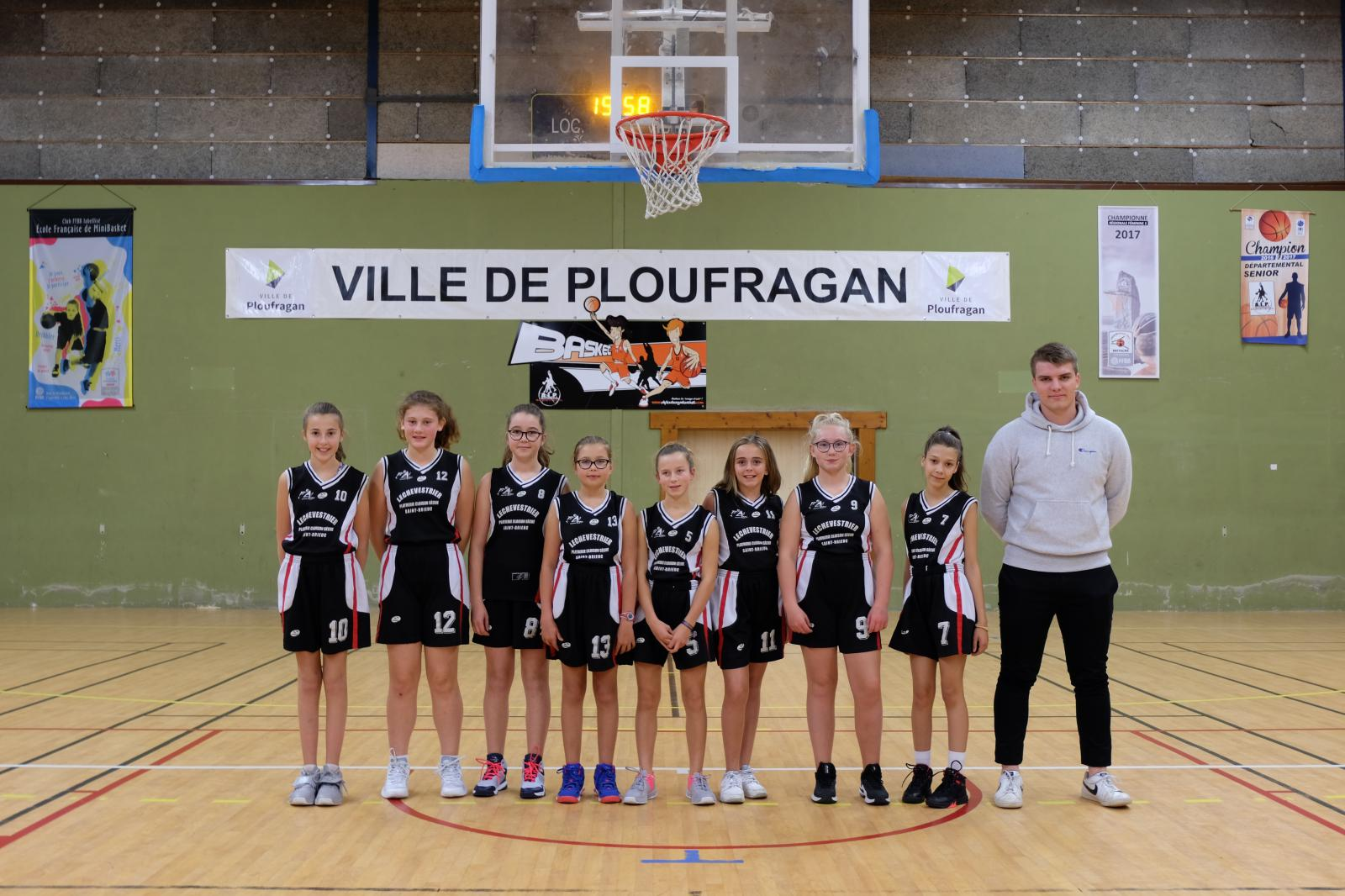 U13 FILLES-4 CTC - DEVELOPPEMENT 3 - AL PLOUFRAGAN BASKET-BALL