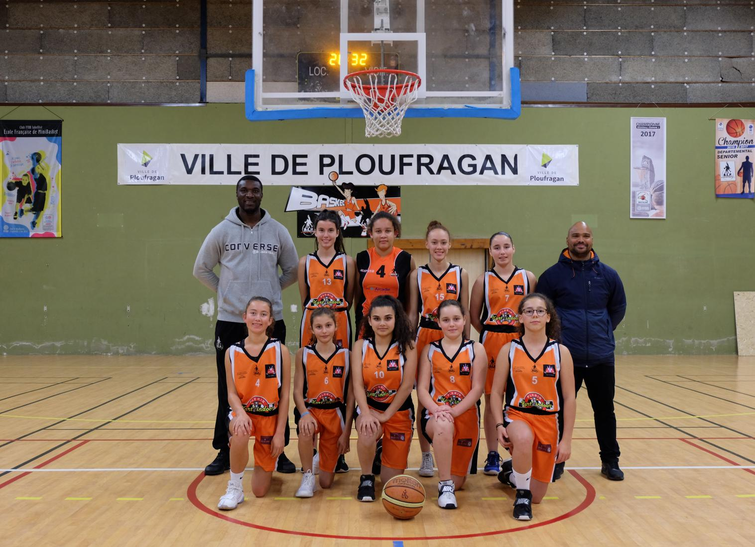 U15 FILLES - AL PLOUFRAGAN BASKET-BALL